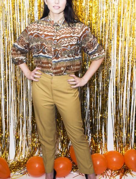 Mustard Chino Trousers