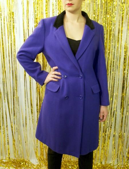 Blue Full Length Coat