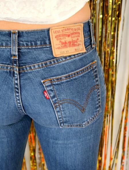 Levi Low Rise Jeans