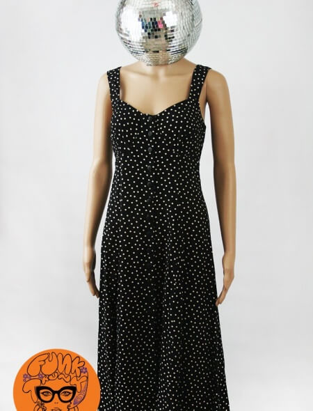 Summer Polkda Dot Dress